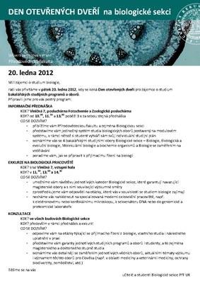 DOD 2012 biologie