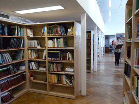 Biological Library - Main Area
