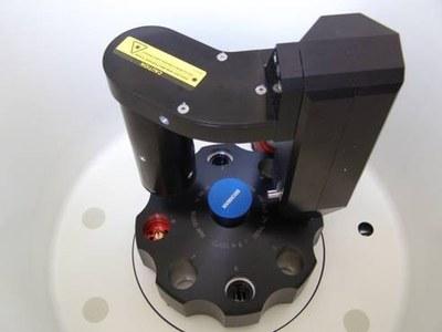 Analytická ultracentrifuga rotor obrazek