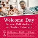 Welcome day for new PhD students