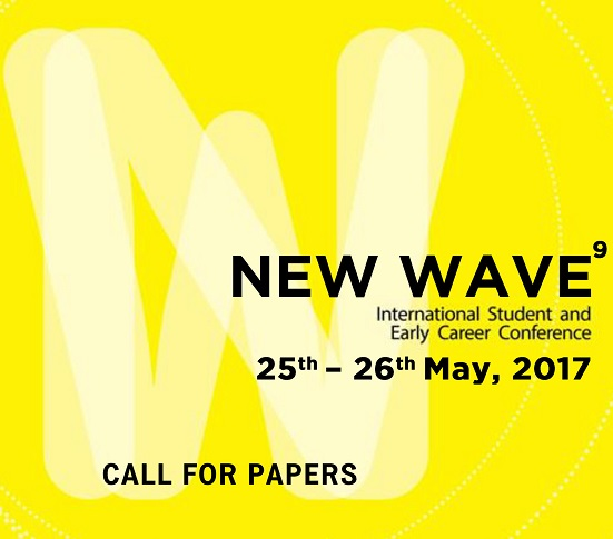 !!CALL FOR PAPERS!!!  NEW WAVE 9th International Student and Early Career Conference
