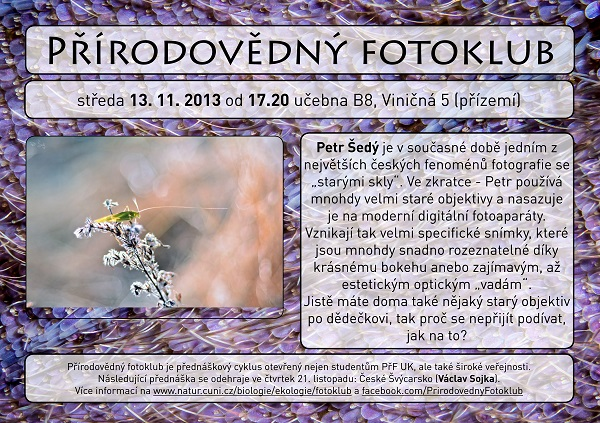 Petr Šedý Fotoklub web