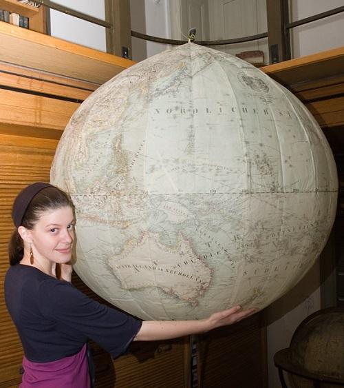 Cella globus výřez