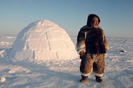 Inuitský lovec
