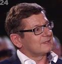Profesor Luděk Sýkora v pořadu Fokus Václava Moravce