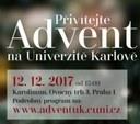 Advent na Univerzitě Karlově
