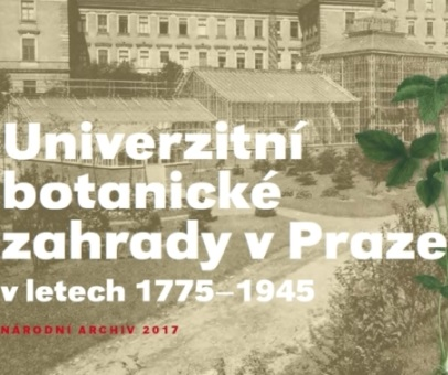 """Křest knihy """"Univerzitní botanické zahrady v Praze v letech 1775-1945"""" proběhl ve skleníku Botanické zahrady"""