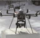 Monitoring sněhové pokrývky pomocí dronů