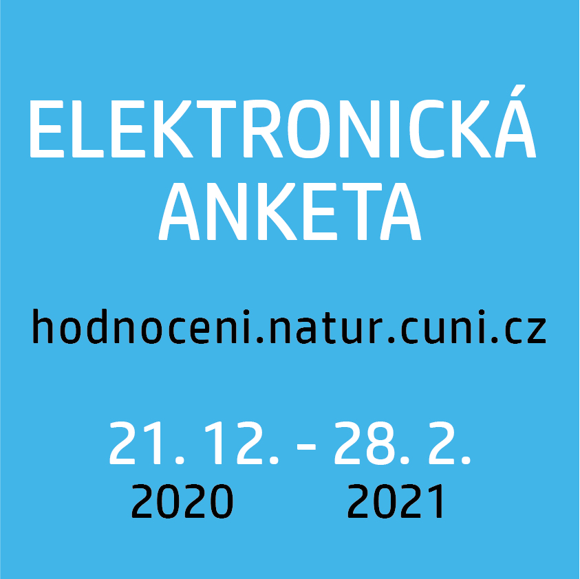 Elektronická anketa hodnocení výuky 2020/2021