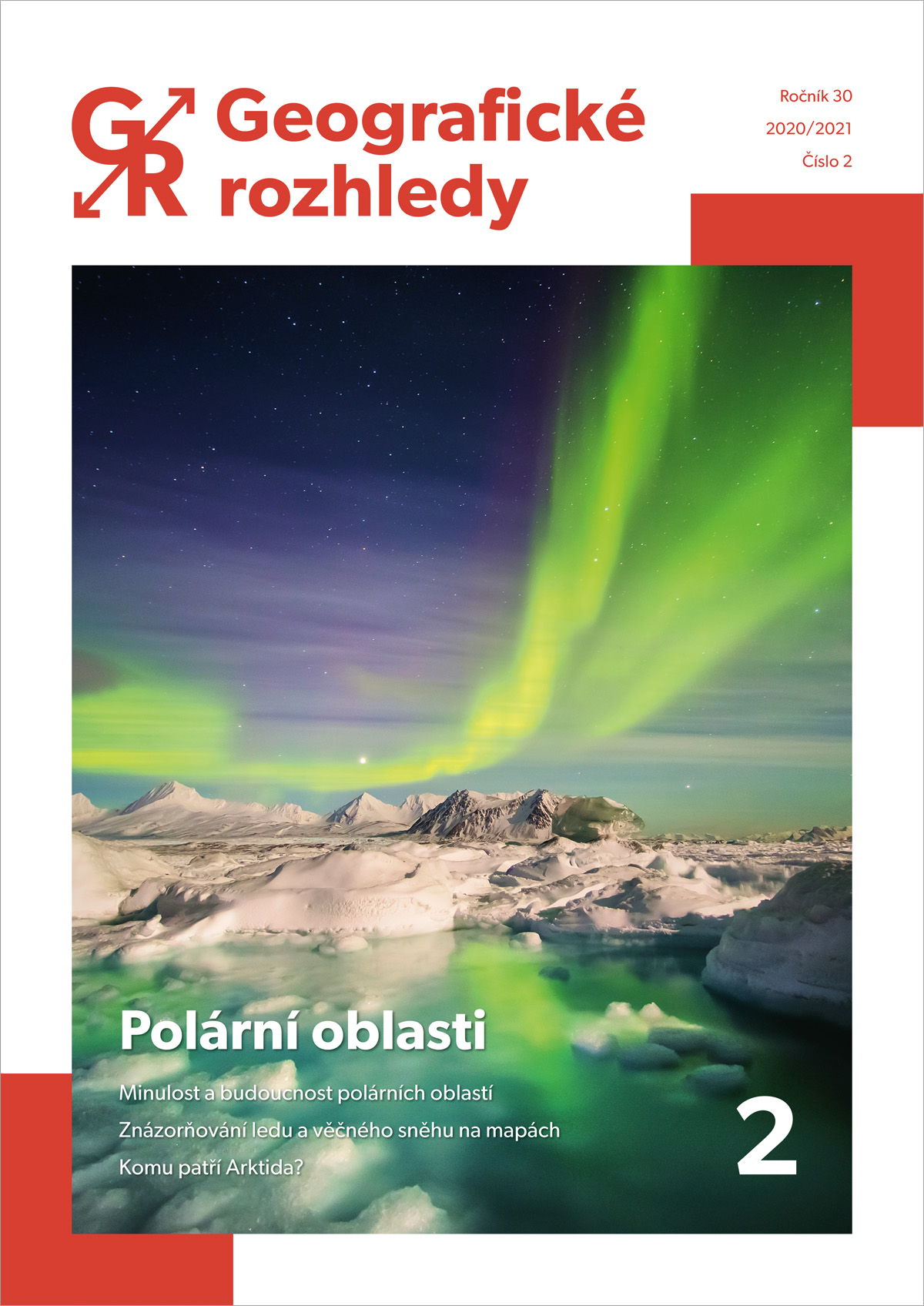 Právě vyšlo druhé číslo 30. ročníku Geografických rozhledů