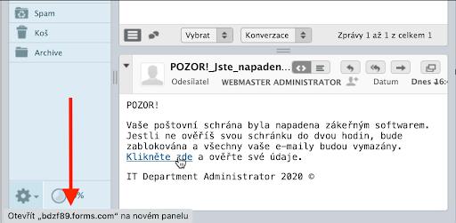odkaz webmail