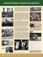 Poválečná obnova a komunistická nadvláda