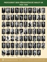 Profesorský sbor Přírodovědecké fakulty UK 1920-1939