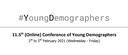 11,5. ročník konference Young Demographers je tady!