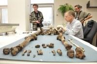 Analýza ostatků slavného astronoma probíhala v Národním muzeu v Praze, foto Marek Jantač.