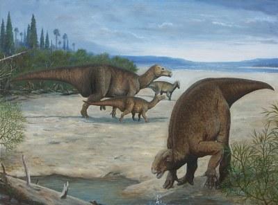 Iguanodontid