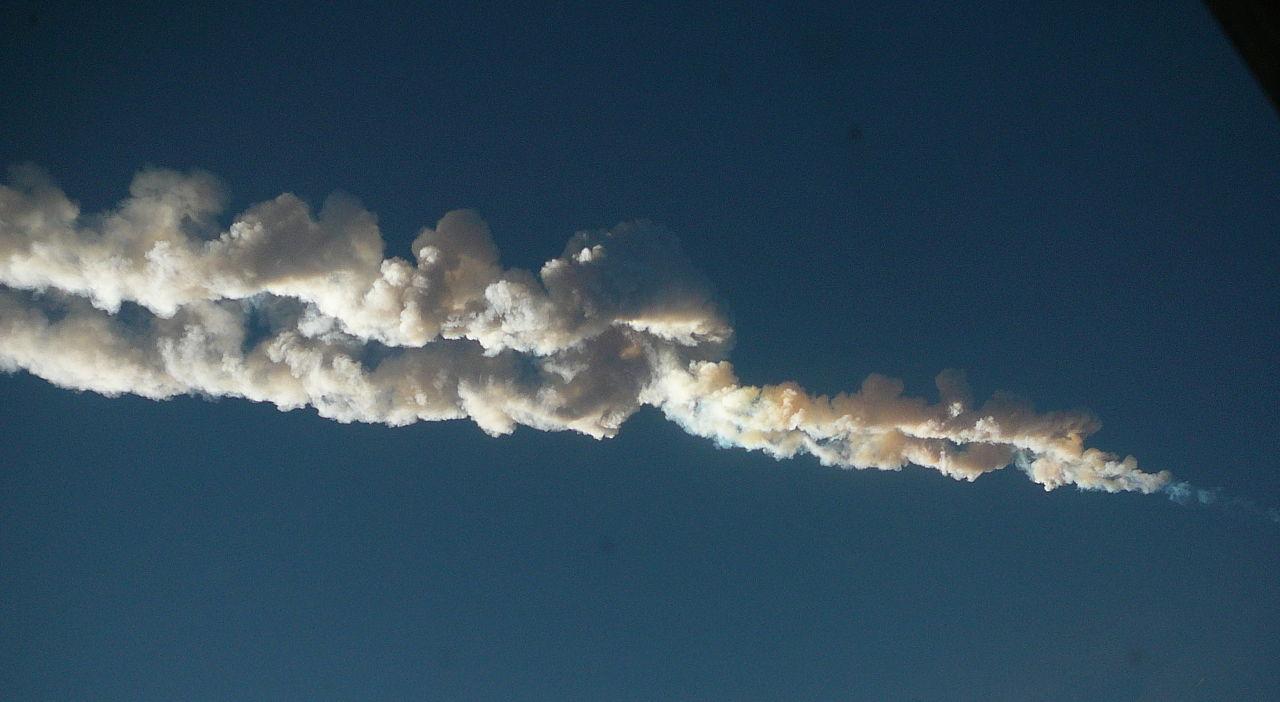 Kam dopadl Čeljabinský meteorit v roce 2013?