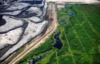 Pro navrácení krajině její původní podobu je třeba myslet ještě před začátkem těžby. Zdroj:https://www.flickr.com/photos/greenpeaceinternational/3921818537