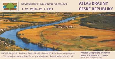 Pozvánka - atlas krajiny