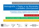 Konference České demografické společnosti 2018