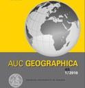Časopis AUC Geographica na WoS