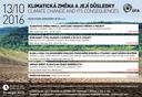 Klimatická změna a její důsledky