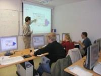 Výuka probíhá pomocí moderních geoinformatických nástrojů