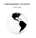 Příručka: Citování kartografických dokumentů, 2021