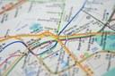 Dopravní mapy a plány - výstava Ústředního archivu zeměměřičství a katastru