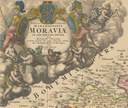 Donation of nine old maps by Mrs Helga Serrano Miksch