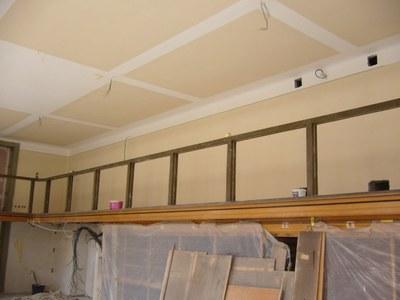 Rekonstrukce: výmalba stropu