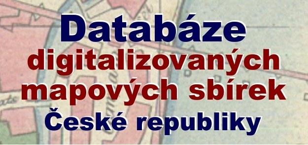Databáze digitalizovaných mapových sbírek České republiky