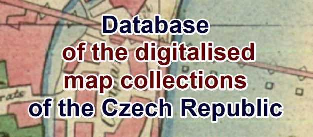 Database of the digitalised map collections of the Czech Republic