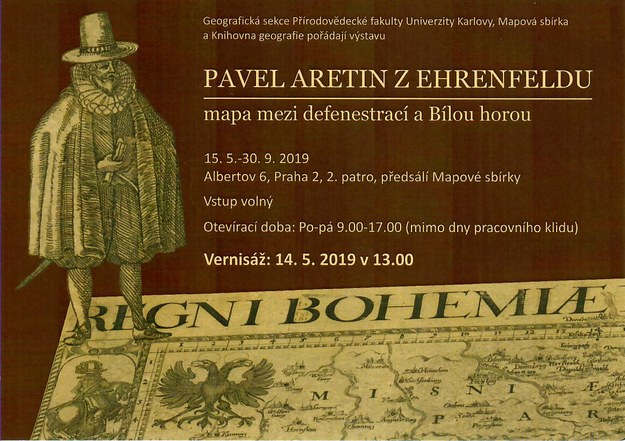 Exhibition Pavel Aretin of Ehrefeld: A map between the defenestration and the Battle of White Mountain