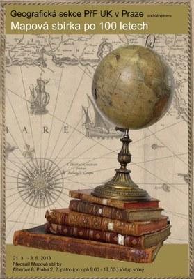 Mapová sbírka po 100 letech