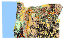 Interactive geological map of Oregon