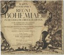 Exhibition: Map of the Kingdom of Bohemia, 1720