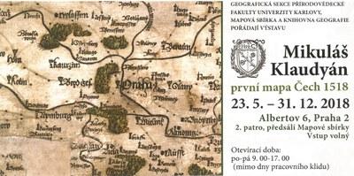 Exhibition Mikulas Klaudyan First Map Of Bohemia 1518