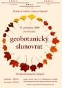 Podzimní geobotanický slunovrat 2019