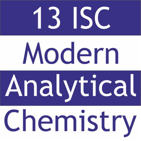 13th International Students Conference 'Modern Analytical Chemistry'